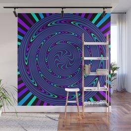 Trippy Spiral Wall Mural
