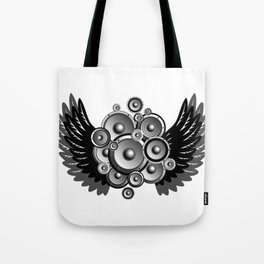 Abstract music illustration Tote Bag