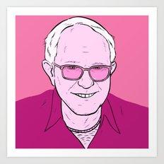 Dirty Bernie Art Print