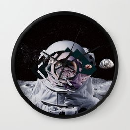 Spaceman oh spaceman Wall Clock