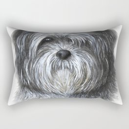 Dog 138 Shih Tzu Rectangular Pillow