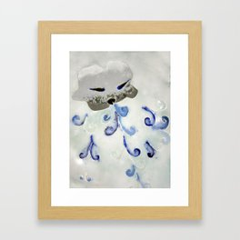 Creature of Air (The North Wind) Framed Art Print