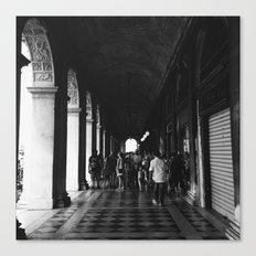 Beneath the arches Canvas Print