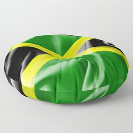 Jamaica Flag Floor Pillow