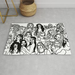 Real Housewives Pt.1 and 2 combined Rug