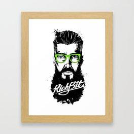 RichBit. Hipster Framed Art Print