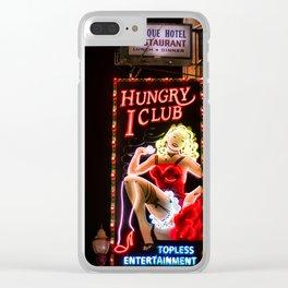 Best Clam Chowder in San Fran Clear iPhone Case