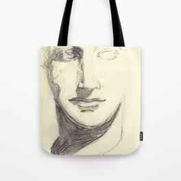 Head of a Goddess - sketch Tote Bag