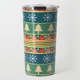 Christmas pattern II Travel Mug