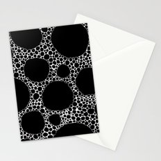 Black Pebbles Stationery Cards
