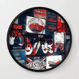 Posters Art Jeans Wall Clock