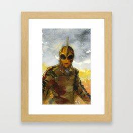 Rocketeer Framed Art Print