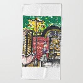 The Bronx Zooo Beach Towel