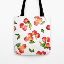 Bowl of Cherries Tote Bag