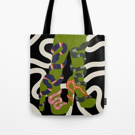 Snake Charmer III Tote Bag