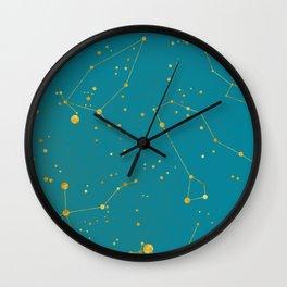 Northern Celestial Hemisphere Wall Clock