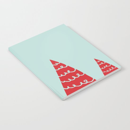 Funky christmas tree Notebook