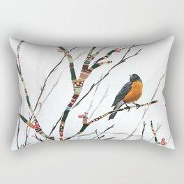Harbinger of Spring Rectangular Pillow