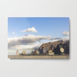 Satellites. Acantilado de los Gigantes, Tenerife. Metal Print