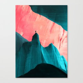 We understand only after Canvas Print