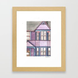 Home #6 Framed Art Print