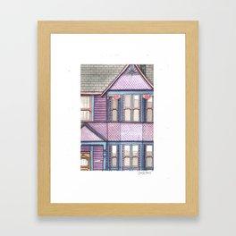 Home #6 Framed Art Print