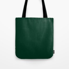 Deep Green Tote Bag