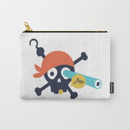 Arr Dead Pirate Carry-All Pouch