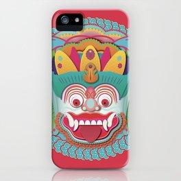 Bali Monstah 2 iPhone Case