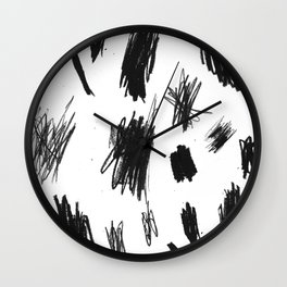Crayon Wall Clock