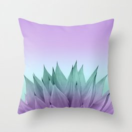 Agave Vibes #7 #tropical #decor #art #society6 Throw Pillow