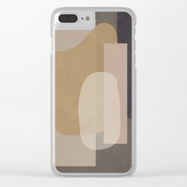 Abstract Geometric Art 51 Clear iPhone Case