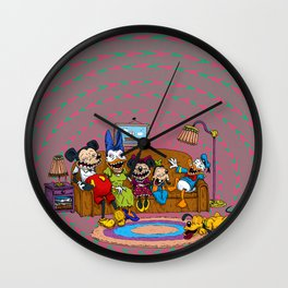 Psycouch Wall Clock