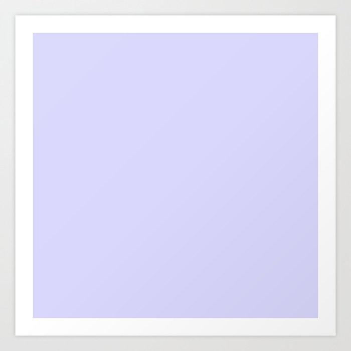 Simply Periwinkle Purple Kunstdrucke