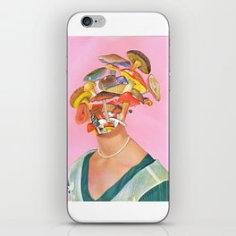 Mushroom Head iPhone Skin