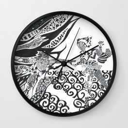 The Rescue Wall Clock