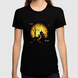 Halloween Castle Nightmare T-shirt