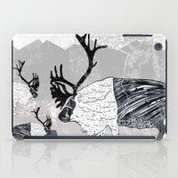 nordic iPad Cases featuring Nordic Reindeer by Pencil Studio