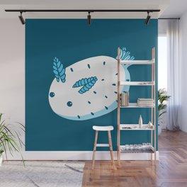 Sea Bunnies_Blue Wall Mural