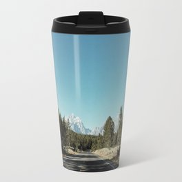 Road To Mountains Travel Mug
