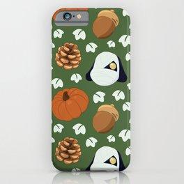 Autumn Lucky Pattern iPhone Case