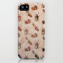 hot buggy mess persimmon brown iPhone Case
