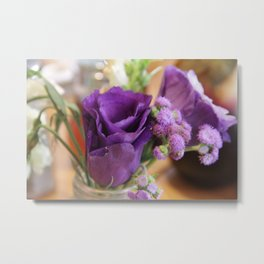 Purple Rose of Cairo Metal Print
