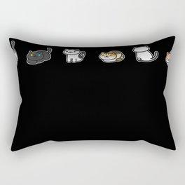 Neko Addiction Rectangular Pillow