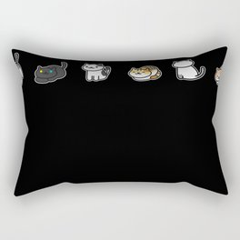 Neko Addiction Rectangular Pillow