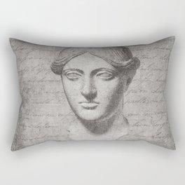 ANCIENT / Head of a Woman Rectangular Pillow