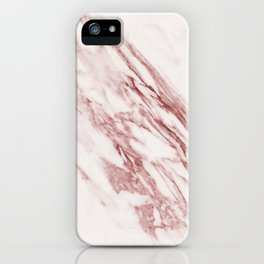 Marble Rosa Pallido, Pale Pink iPhone Case