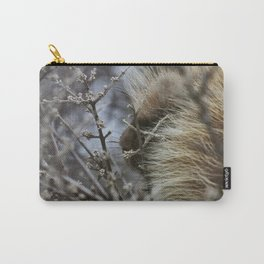Porcupine in the bush Carry-All Pouch