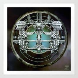 """Astrological Mechanism - Gemini"" Art Print"
