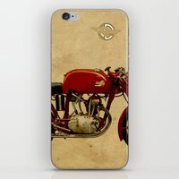 ducati iPhone & iPod Skins featuring Ducati GS125 1954 by Larsson Stevensem